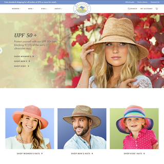 Wallaroo Hat Company custom Shopify Plus website