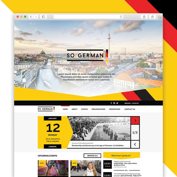 SoGerman is an online events platform.