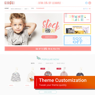 Theme Customization service - contact at experts@sellersmith.com