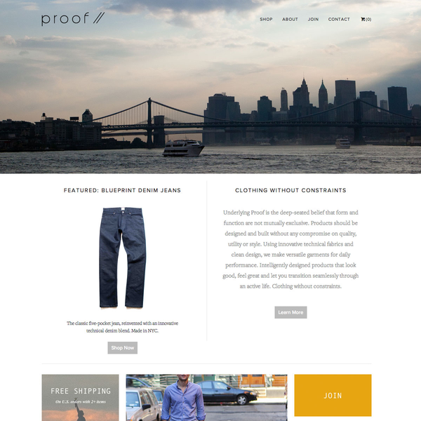 Proof (proof.com) Creative and programming by Bienfeo