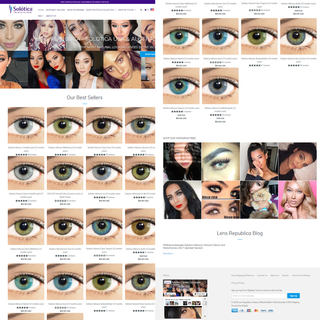 Shopify Marketing for a Fashion Contact Lens Company