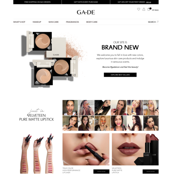 GA-DE Cosmetics International Store
