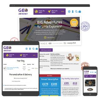 Bespoke design and development for Geo Journey