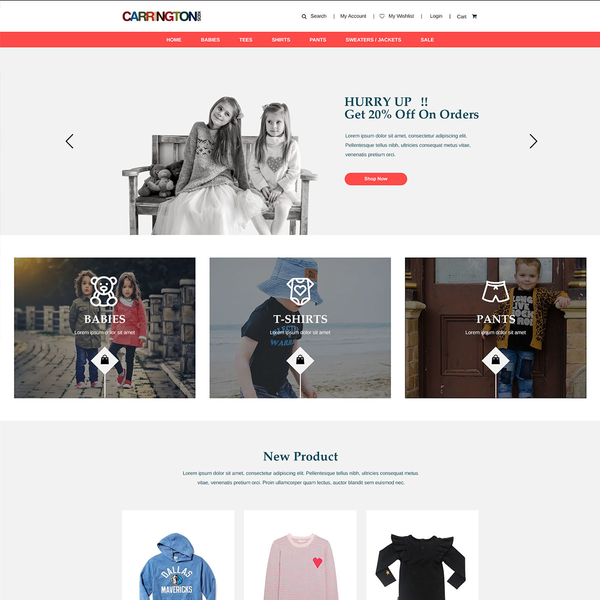 Carrington Clothing Store