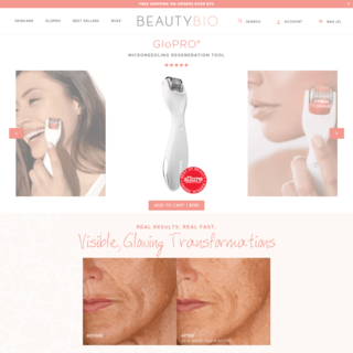 BeautyBio - Full Site Build / Develop custom sectioned product pages