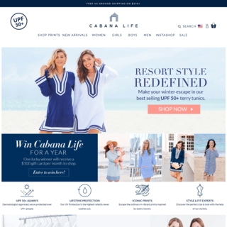 CabanaLife - Full Site Build / Filtering / Search / Updated Navigation