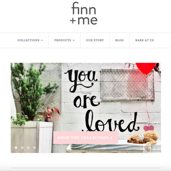 Finn and Me - Shopify Set-up using custom theme