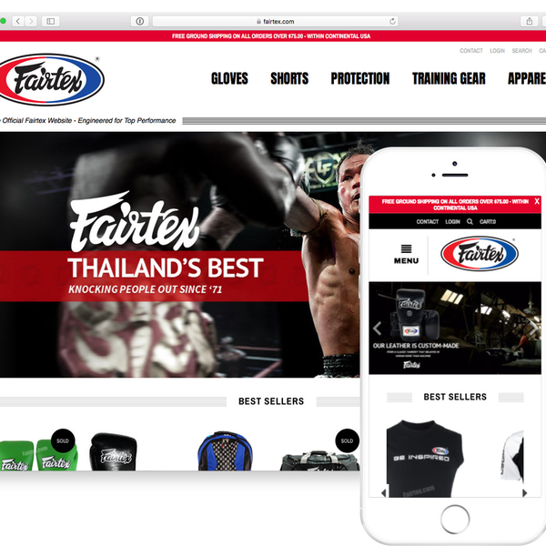 Fairtex (The world's best muy thai products)
