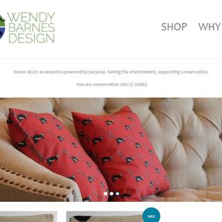 Wendy Barnes Designs  - custom art benefiting wildlife organizations