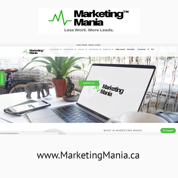 MarketingMania.ca - Designed by yours truly!