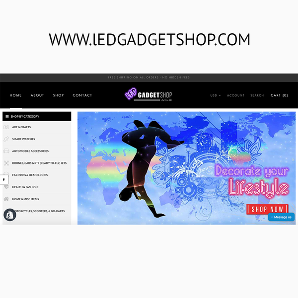 LEDGadgetsShop.com - Happy client!