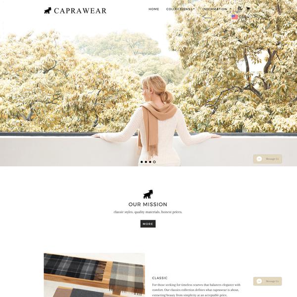 www.caprawear.com