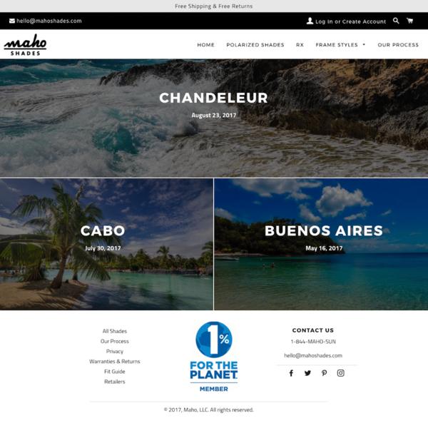 Maho Shades Blog Page