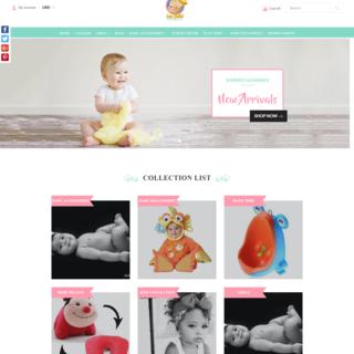 les-bebe, PSD to Shopify, Custom Theme Development