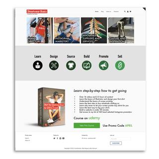 Theme design to maximize online course conversions