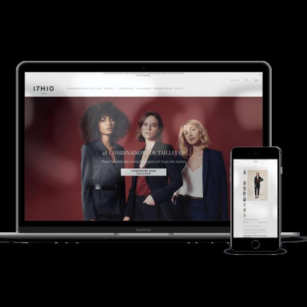 17h10.com Boutique de vêtements et costumes sur mesure pour femmes