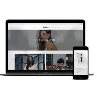 Mondame.fr création d'un site Ecommerce de mode et vêtements