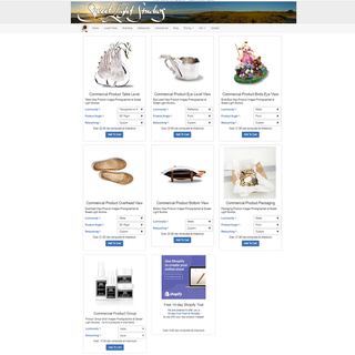 Online Product Photography Ordering