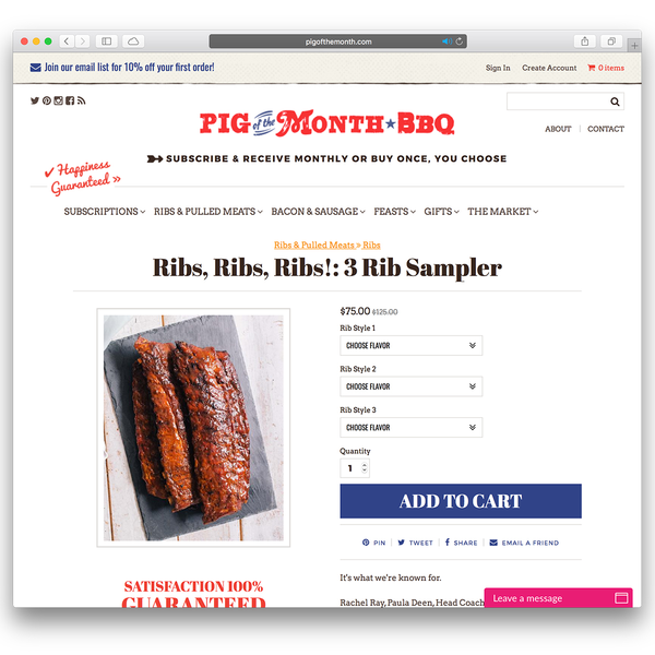 Pig of the Month - FedEx Small Business Award Winner (pigofthemonth.com)