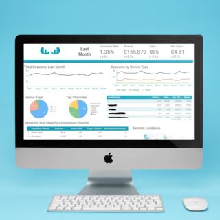 Blue Smart mia home page