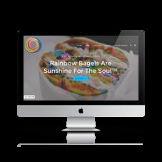 Order Rainbow Bagels Online!