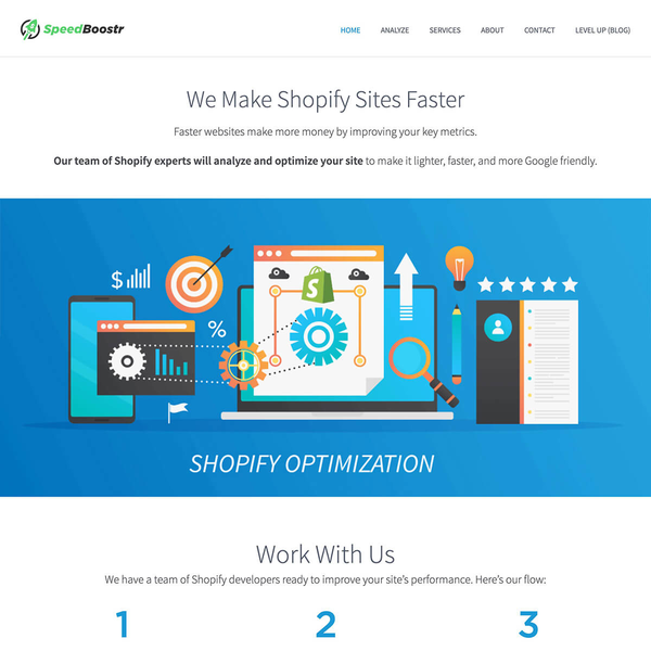 I created a system to optimize Shopify sites, then built a business around it.