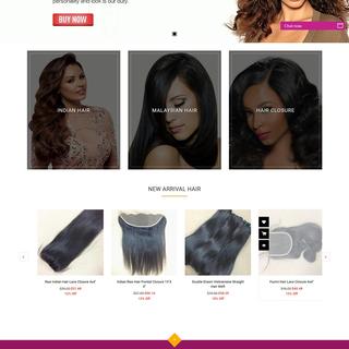 Shopify Store for Mayflower Hair