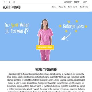 Wear it Forward - Scrubs