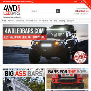 4WD Led Bars