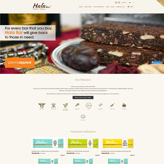 Full Brand Design. Website Design. Full Set Up. www.halabar.co.uk
