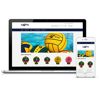 Kap7. Leading Waterpolo Supplier. Great site for clubs , schools and consumers
