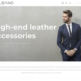 GILBANO - leather accessories.