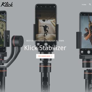 KLICK - Smartphone Stabilizer