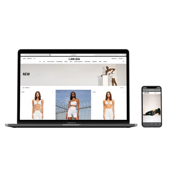 I.AM.GIA Australian website