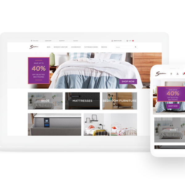 Snooze Shopify Plus Website
