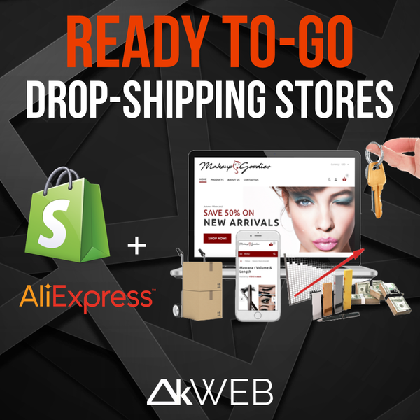 Shopify Drop-Shipping Ready To-Go Stores