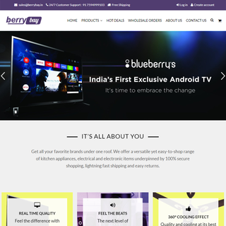 Online store for ANdroid TV