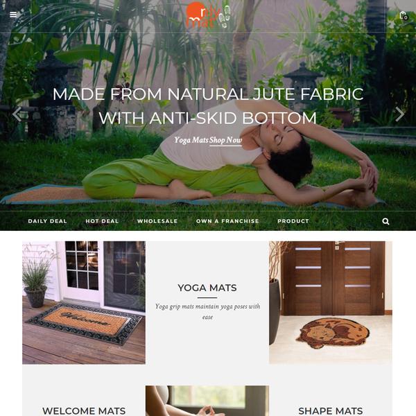 Online coir mat store