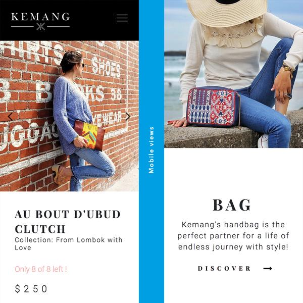 Kemang.com Mobile views