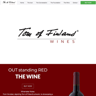 Tom of Finland Wines - Internationally Distributed Wine Label