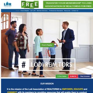 Lodi Association of Realtors - Local Organization