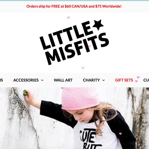 Little Misfits Shopify set-up