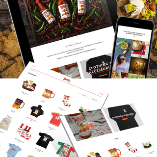 Tapatio Hot Sauce eCommerce