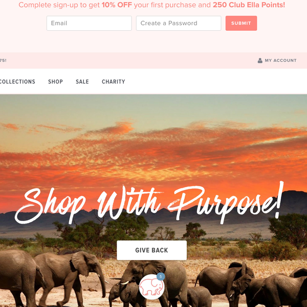 Look great and save elephants! Design, launch, and manage profitable paid social ads for the brand.