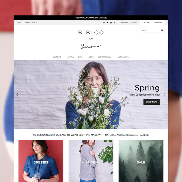 UX, Design and Shopify Development for Bibico - https://www.bibico.co.uk