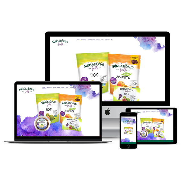 Sunsational Fruits Corporate Brand