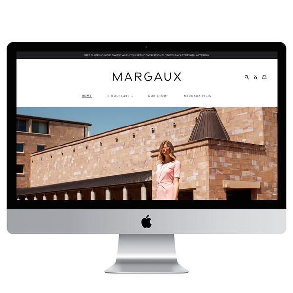 Merge from Squarespace to Shopify for House of Margaux