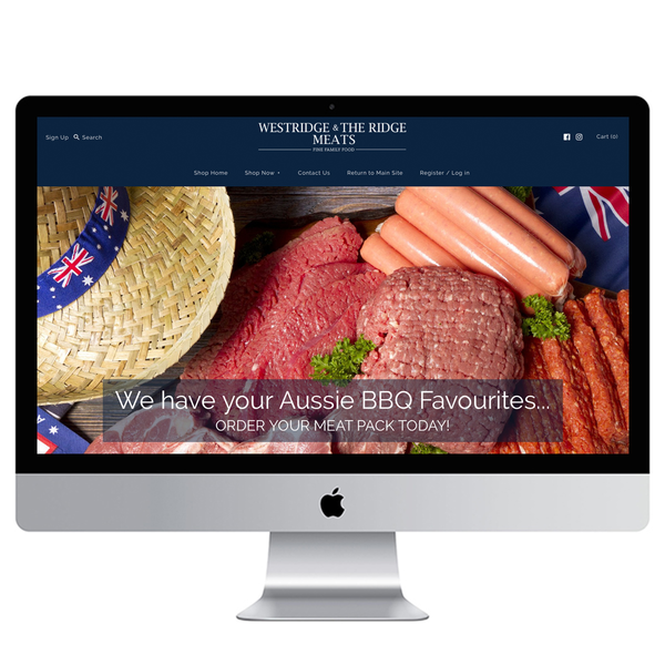 Complete Shopify Store Design & Set-Up for Westridge Meats