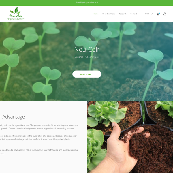 NeuCoir Homepage