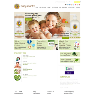 Baby Products- Design, Marketing, Setup and Strategy